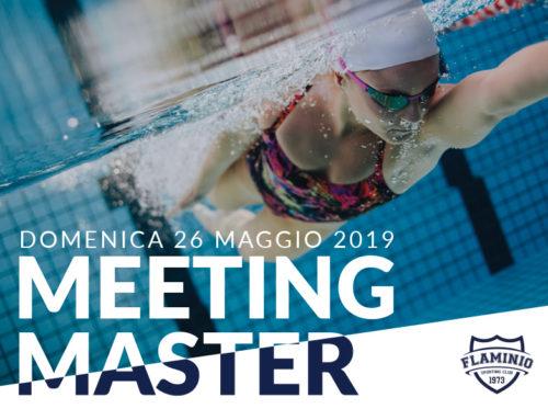 Meeting Master – Domenica 26 Maggio 2019