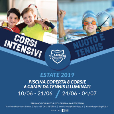Corsi Intensivi Flaminio Sporting Club Roma