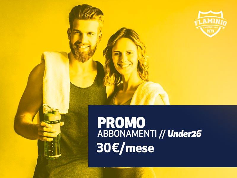 Promo Abbonamenti Under 26