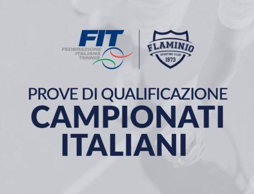 Prove di qualificazioni Campionati Italiani